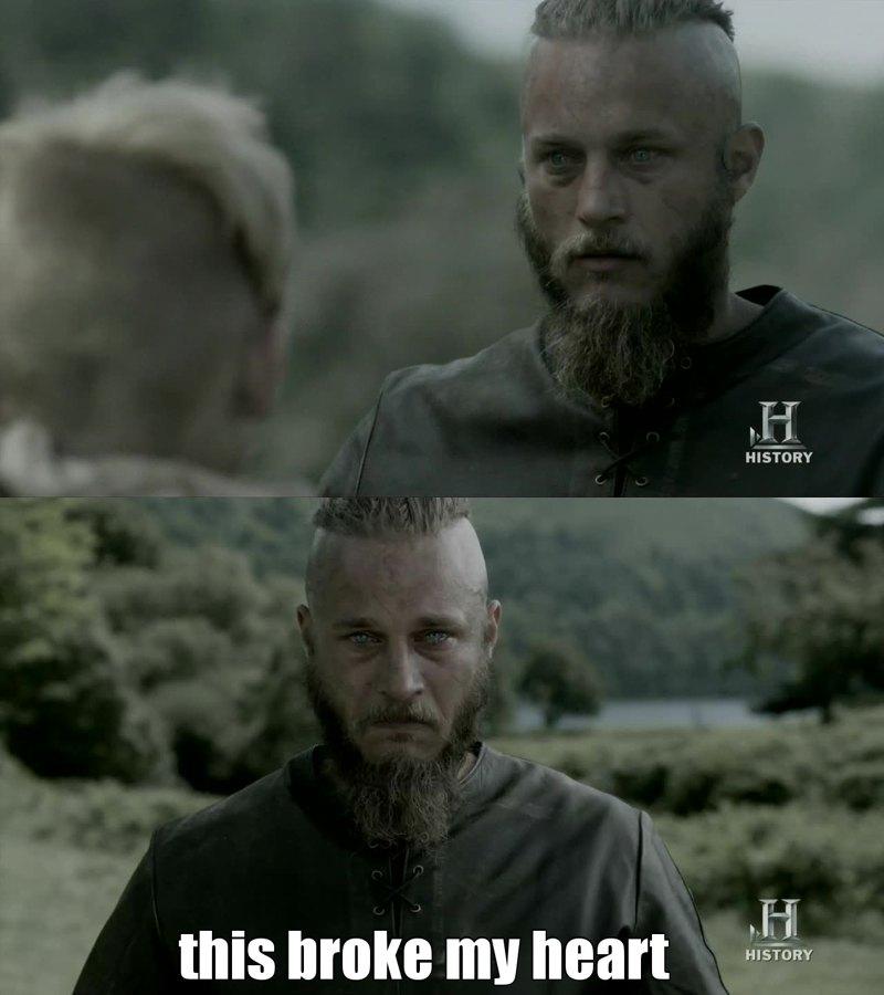 I hate Ragnar, but I still love him.