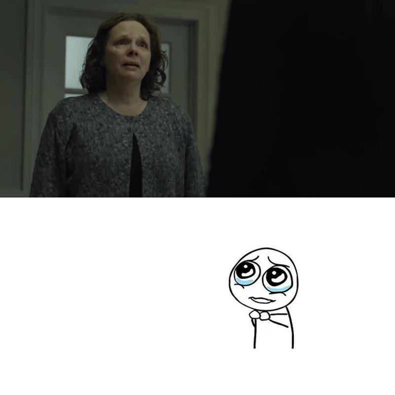 Poor woman :'(