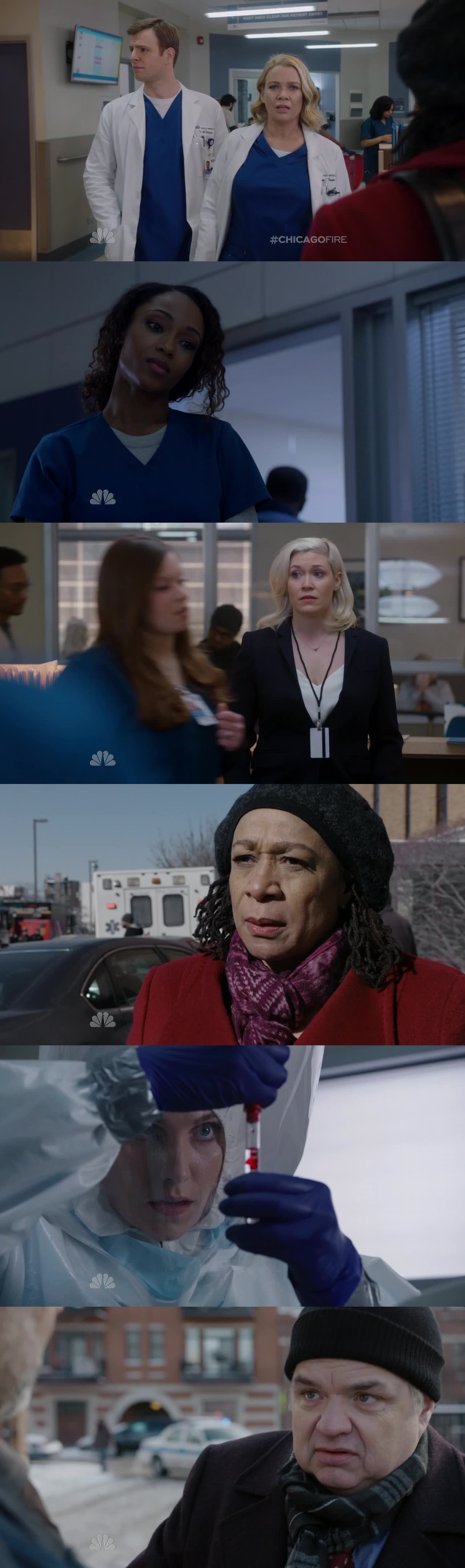 Welcome ChicagoMed!!  5 ladies for 2 men: that's a really GOOD start. Actually, they passed the test. That was an incredible episode. Plus Anna saved Severide so they are good. Boden's speech at the end was just the perfect talk to introduce them. Can't wait for more Chicago nights!!