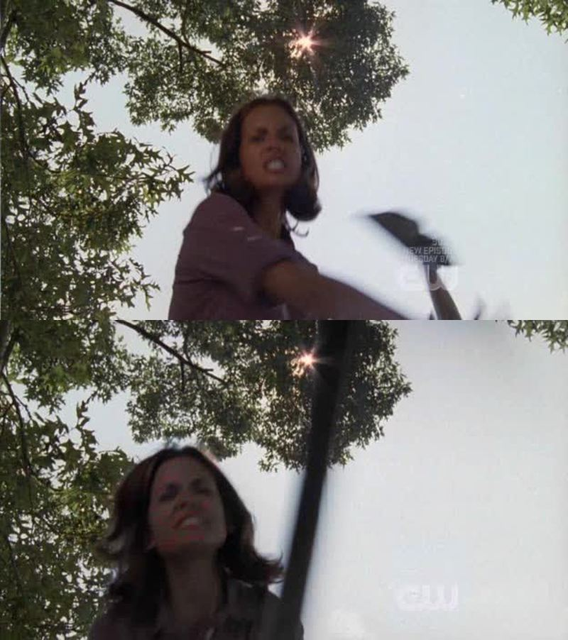 Why is she always hitting people with a shovel? 😂 #nannyCarriemeetsMelissaHastings