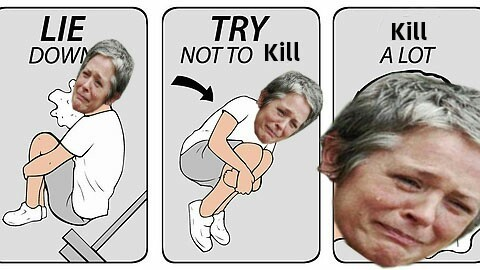 Carol this season 😂😂