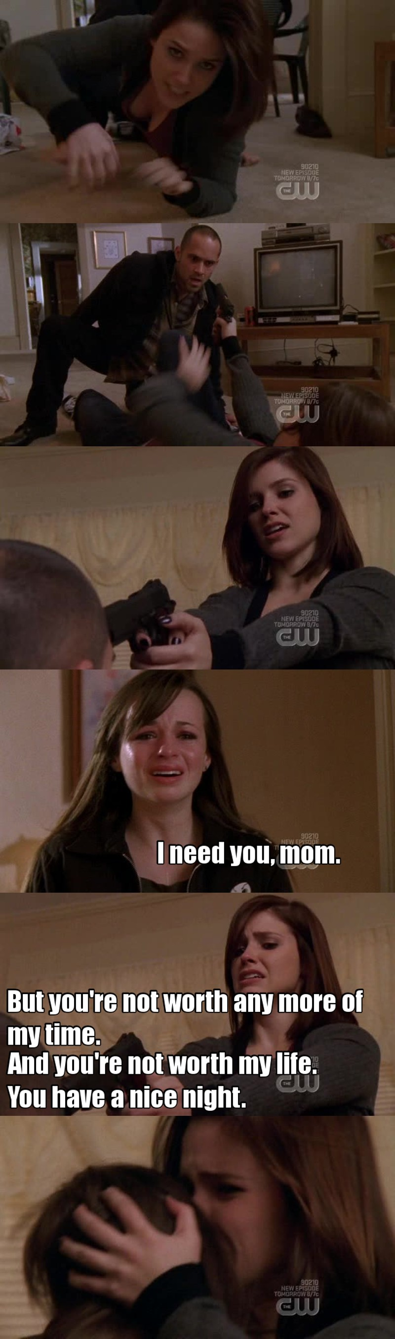 "OH MY GOD BROOKE IS SUCH A BADASS QUEEN, I'M GONNA HAVE TO CALL HER ""MOM"" TOO !"