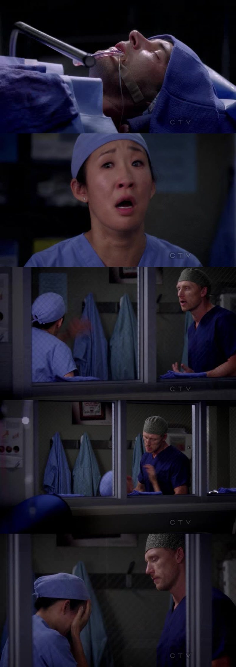 I can't believe that Henry has died, he was such a sweet man. I think that the producers created the same story as Dan's one because everybody loved him.  Cristina's reaction was totally heartbreaking, I was crying all my tears during this scene.