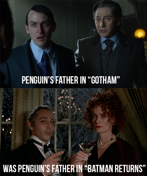 Paul Reuben, great actor who played Penguin's father twice.