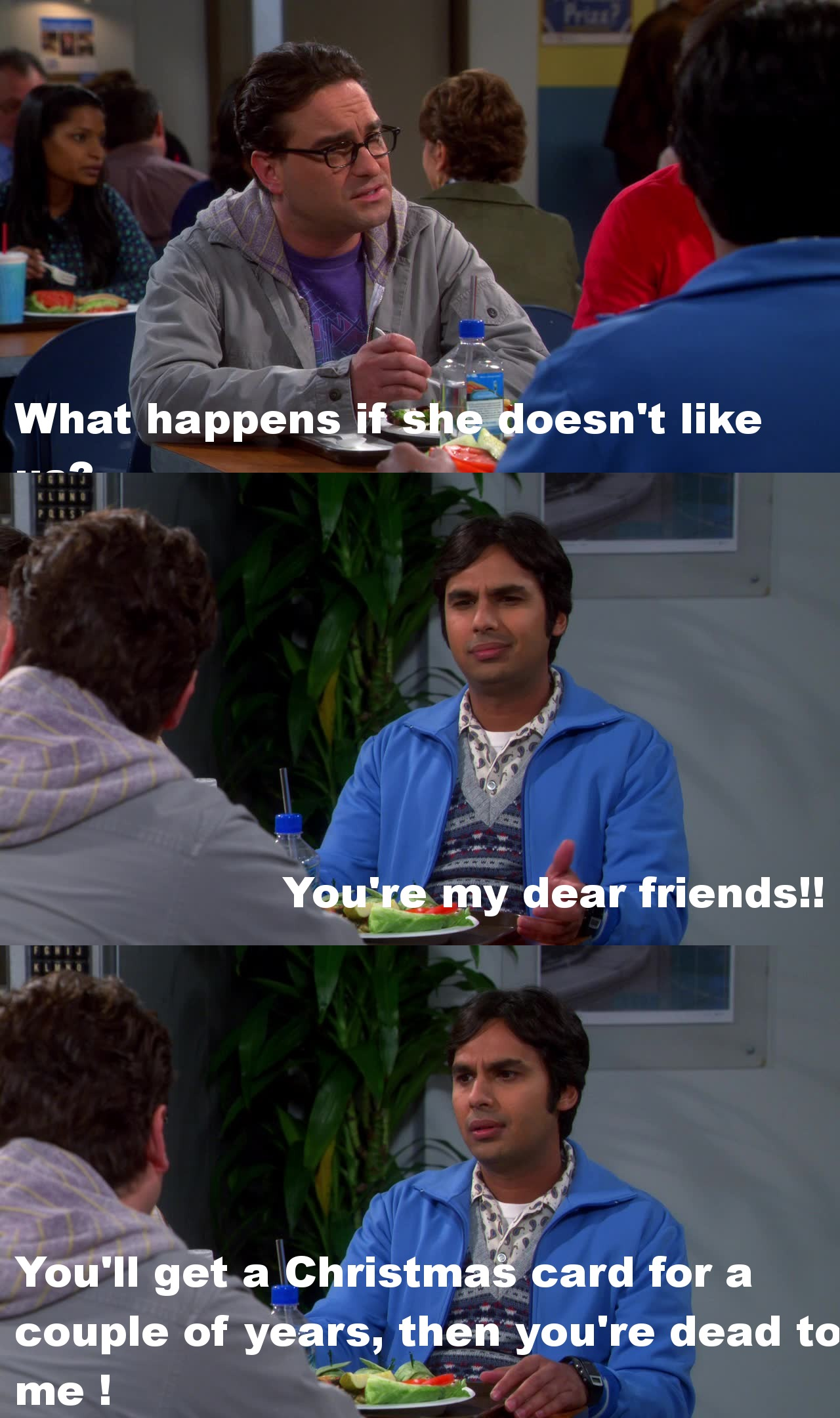Oh Raj... always so funny !