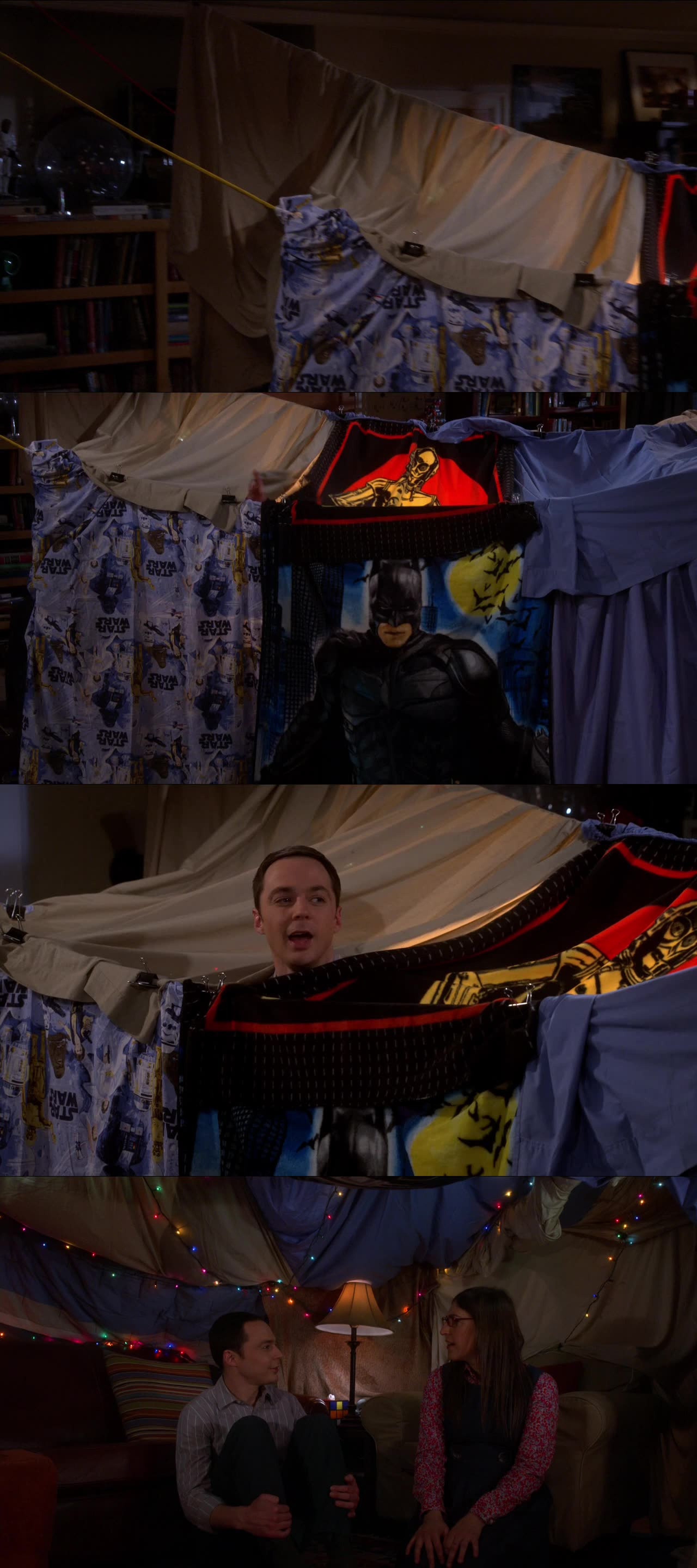 I want a blanket fort!!