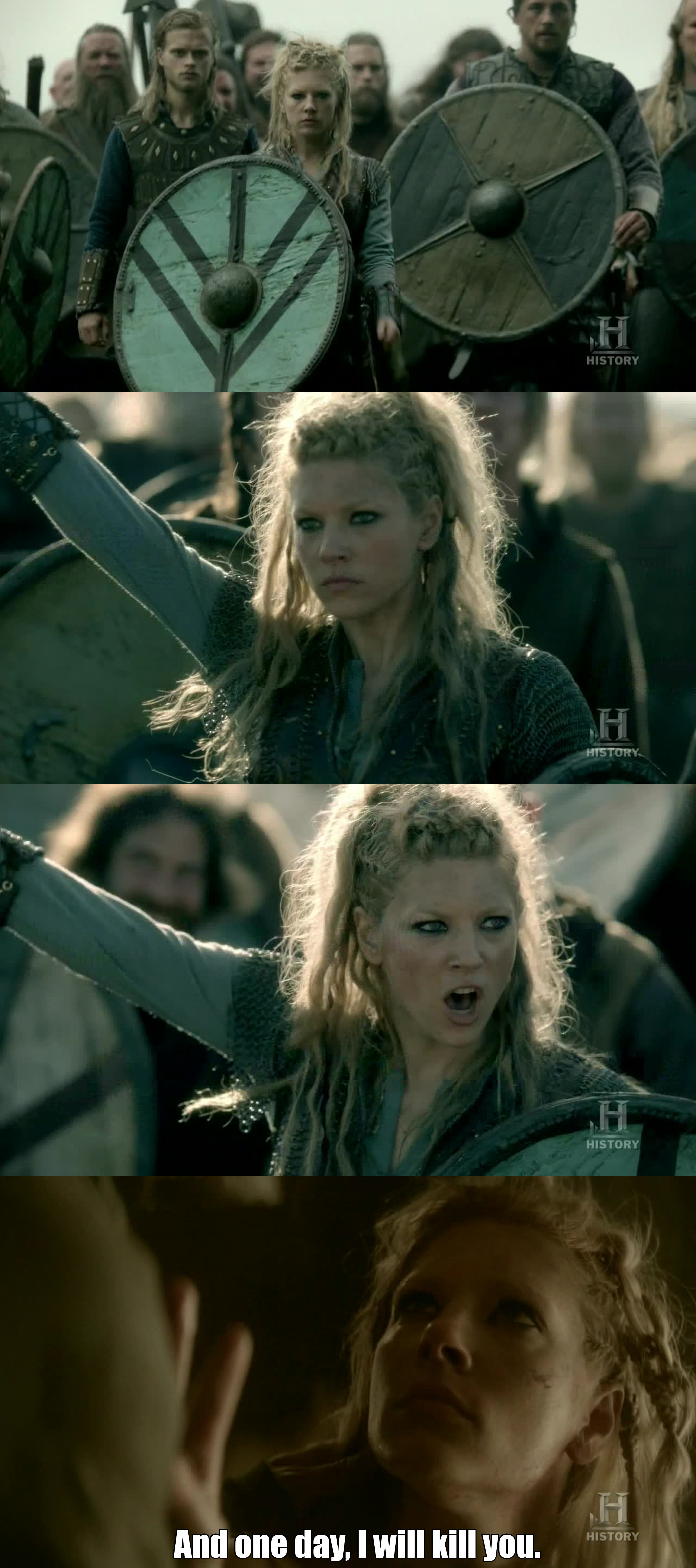 Where can I find a woman like Lagertha? I love her. She is smart, independent, brave and so hot.