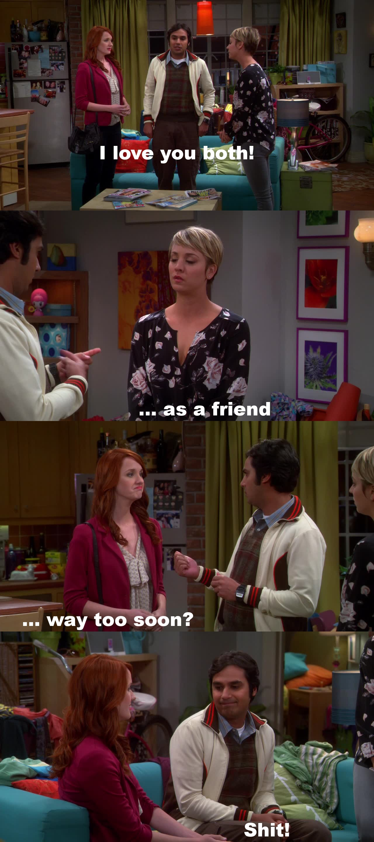 raj hook up with penny 15 hottest women you forgot guest starred on the big bang theory  decided to hook raj up with a  a friend of penny who visits from nebraska and ends up.