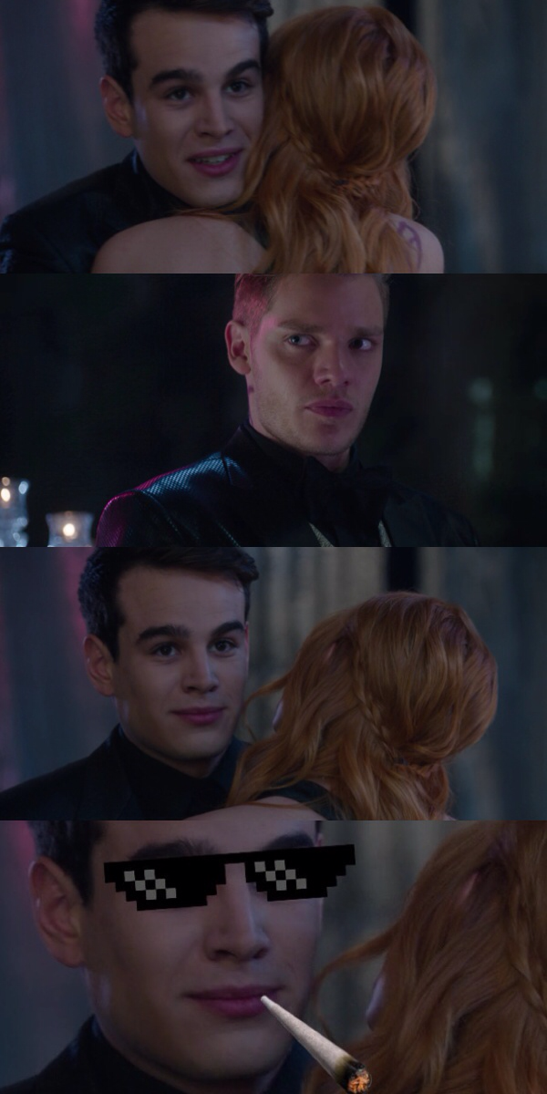 tv time - shadowhunters s01e12 - malec (tvshow time)