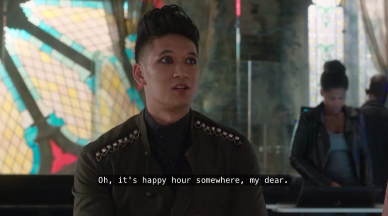 This scene was hilarious 😂😂😂  Clary: It's nine in the morning. Magnus: