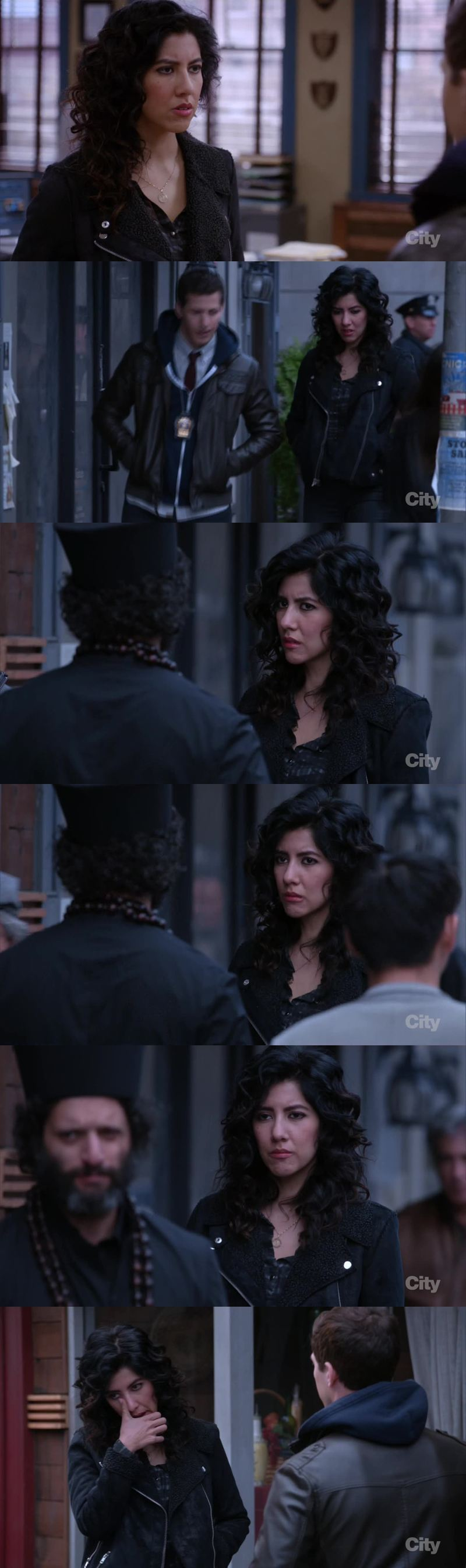 Rosa sad and crying is NOT something that I like to see. NO.