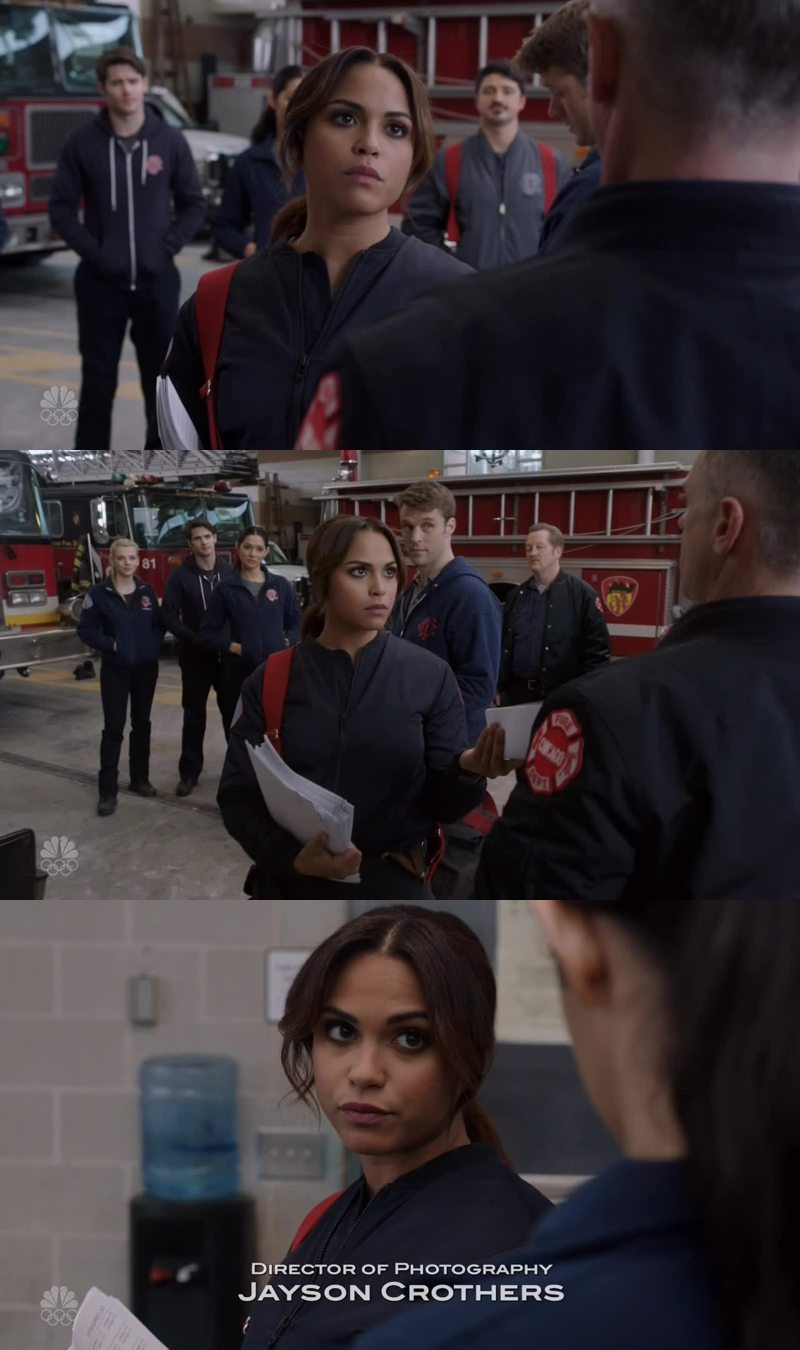 Lol. Love her. Gabby Dawson is not playing around!