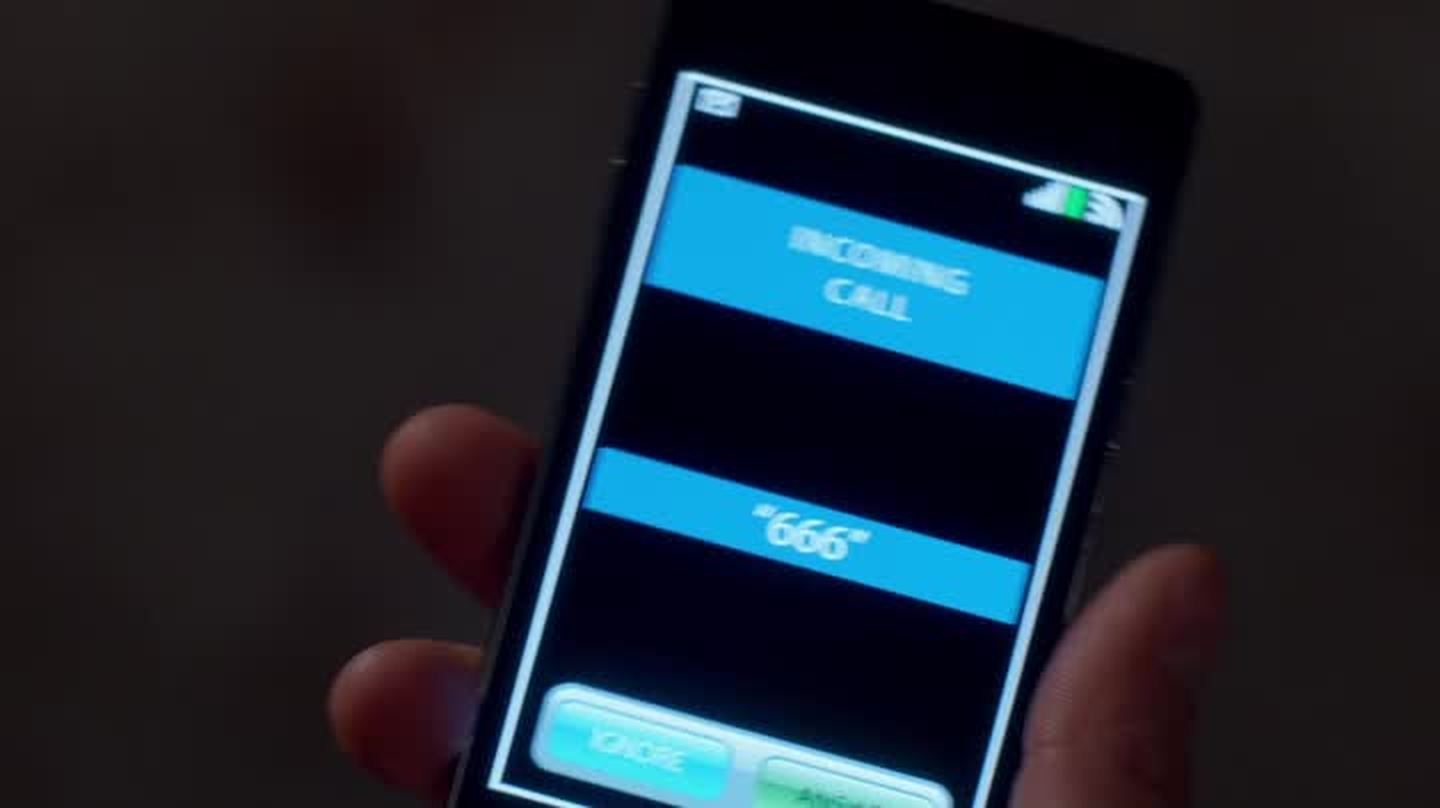 Sorry but the fact that Crowley's phone number is 666 makes me laugh a lot. I mean, this is genius.