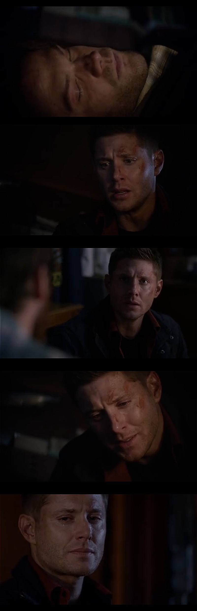 When Dean cry's the world cry's with him 😭😢😔