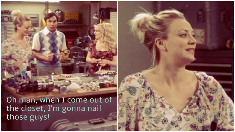 Lol! I think Penny's face sums it up. Raj never listen to himself! :´D
