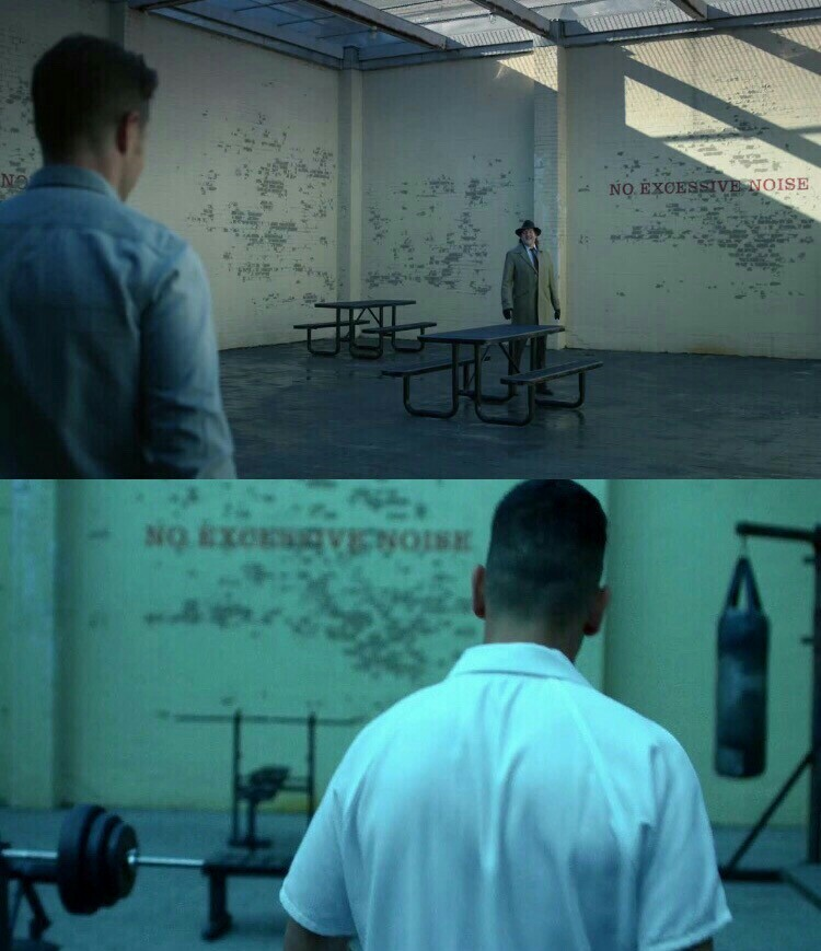 Gotham prison = Daredevil prison