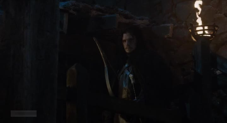 Jon Snow's act at the end : good job baby