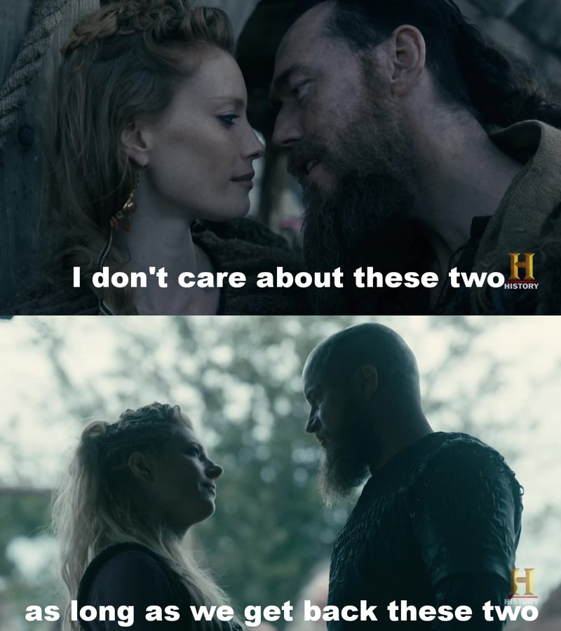 Ragnar and Lagertha are made for each other