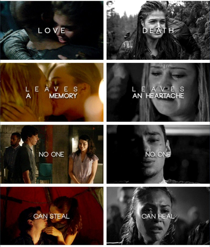 Stop saying this show is just about love, it is not. Ofc, love is one part of the show, as it is in our everyday life, but it is seen more in a negative way. Love is used to make a growth in the main characters.