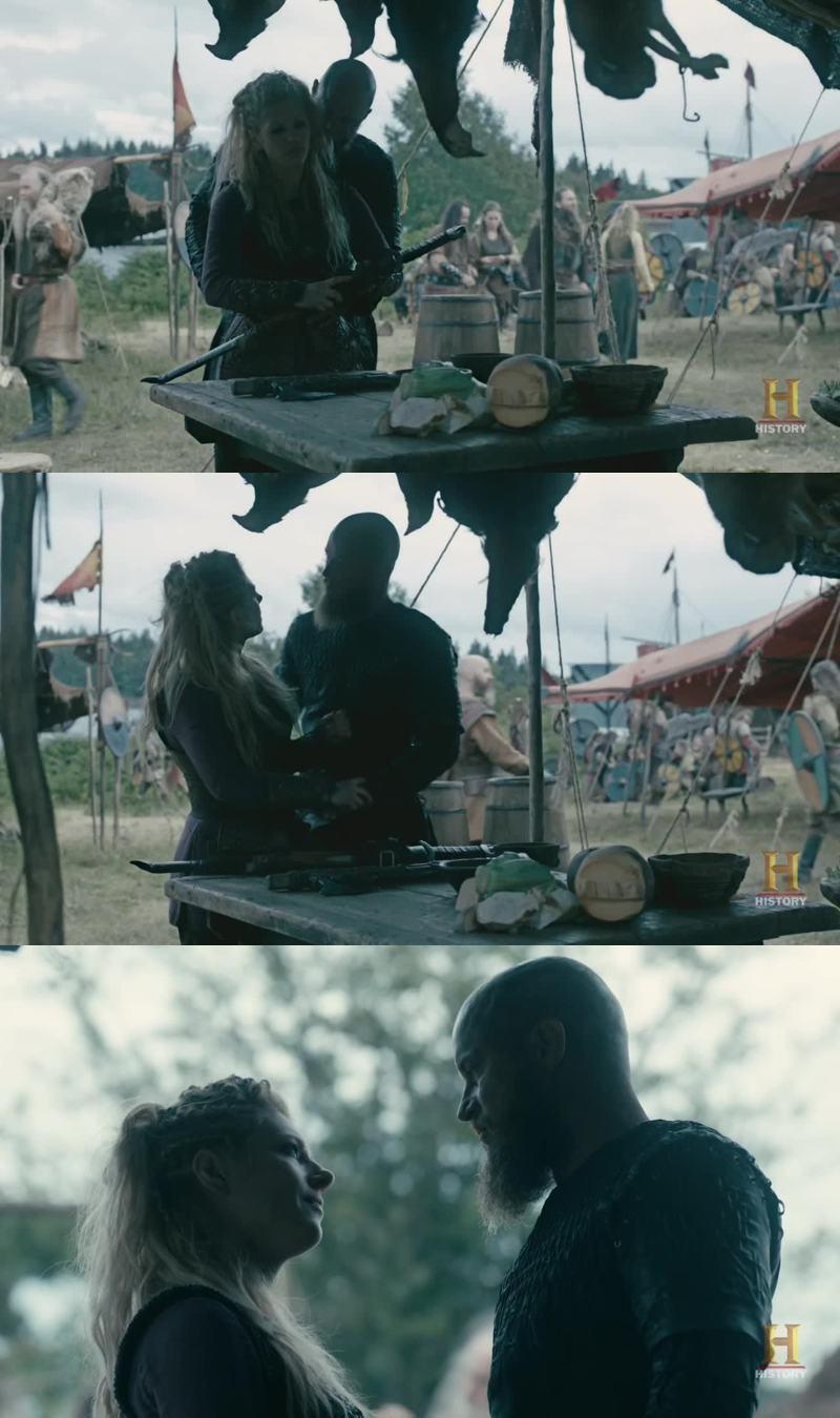 Ragnar et Lagherta sont excellents