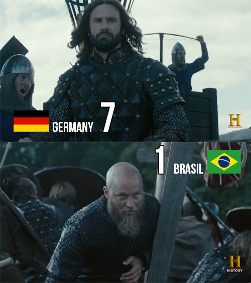 That was a massacre!  If Rollo vs Ragnar was a World Cup game: