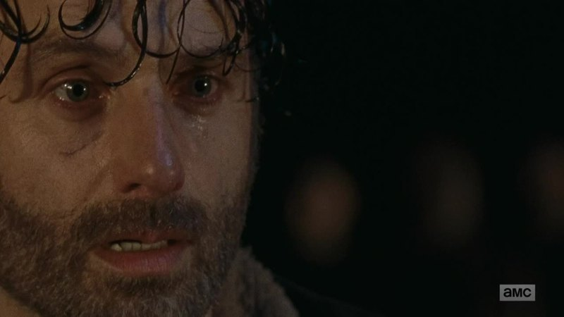 I know 99% of the post are about Negan, Glenn and Daryl, but hey! watching Rick like this, powerless, lost and scared to death blows my mind. All hail Andrew Lincoln, a truly amazing actor.