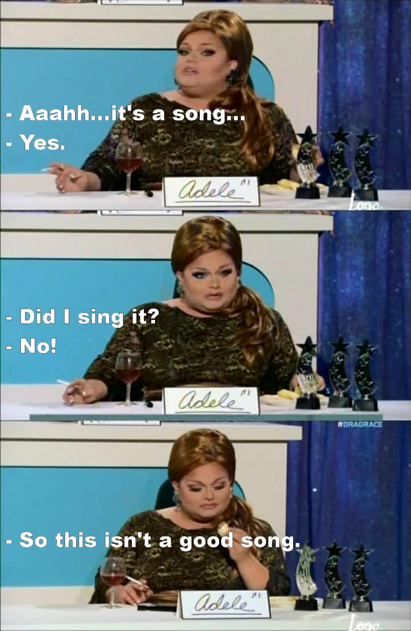 """This episode was fabulous...so loved """"Adele""""...LOL"""