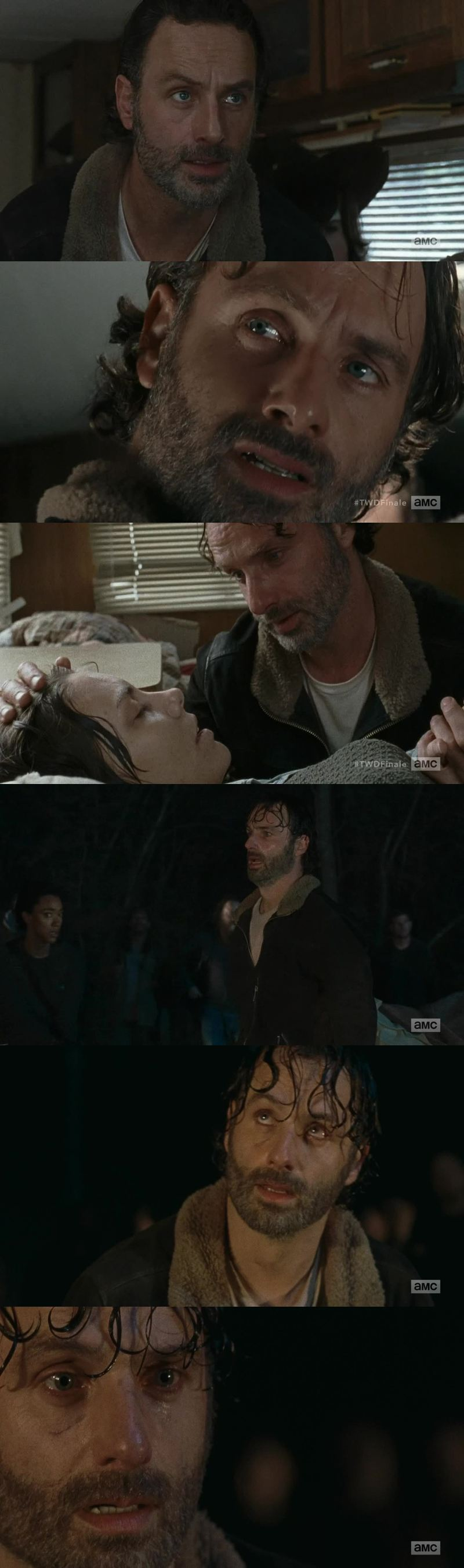 Andrew Lincoln is a hella good actor.