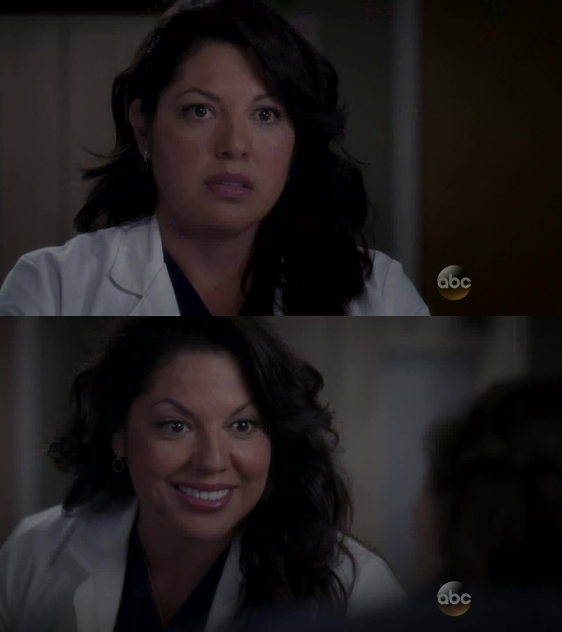 Callie is so strong! So much crap gets thrown her way and she deals with it - she even finds ways to be better. Best character ever!