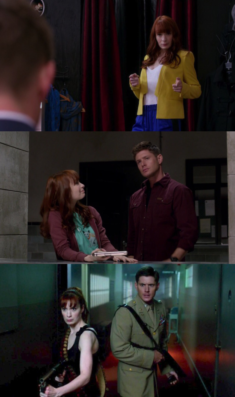 Charlie is awesome!  I love her relationship with Dean.
