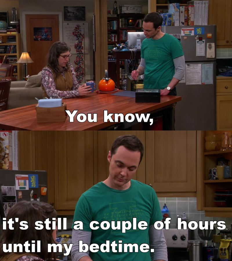 Sheldon and is dirty mind... 😂😂😂😂