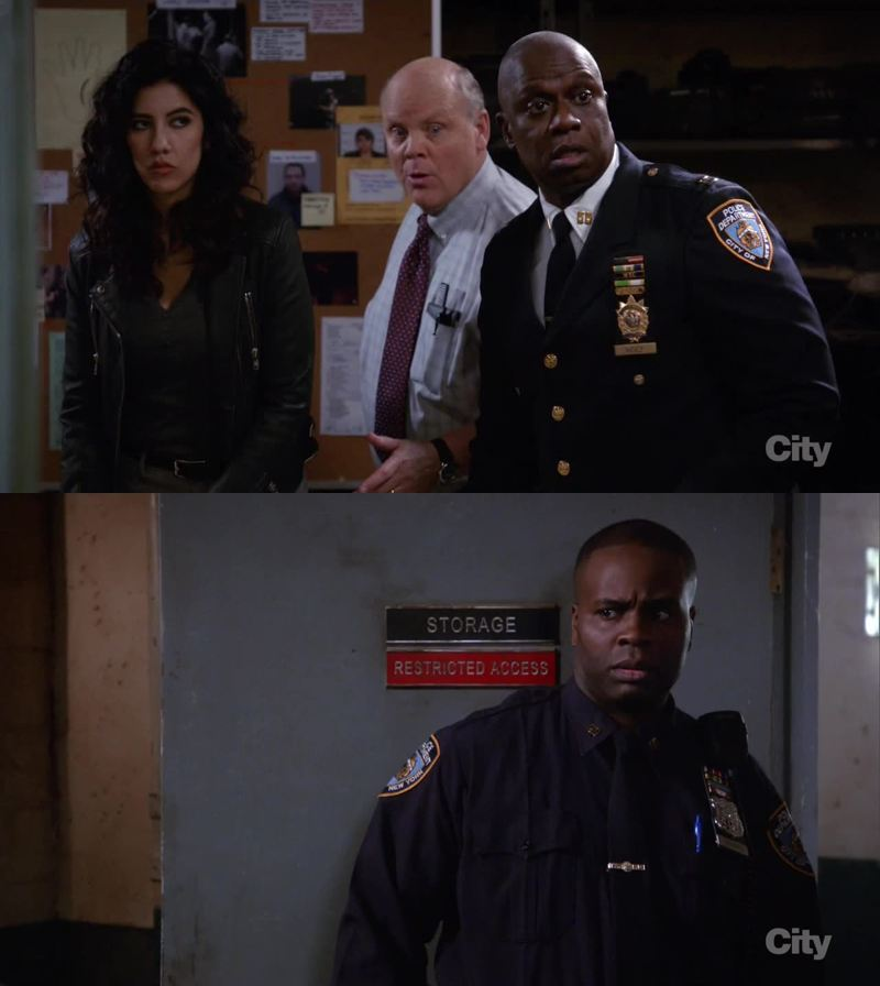 Captain Holt's small talk is amazing 👌👌