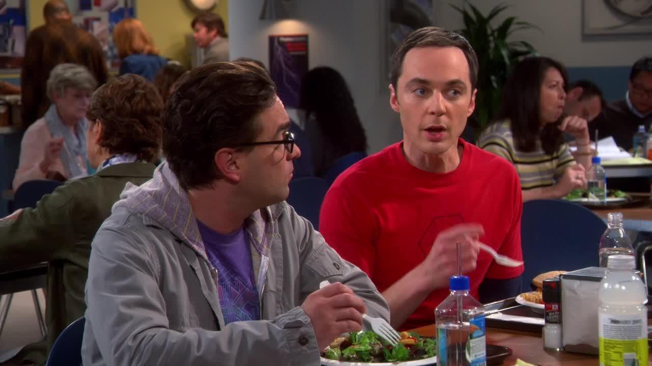 Hey, Leonard. we earn 1 million dollars each episode, they don't.