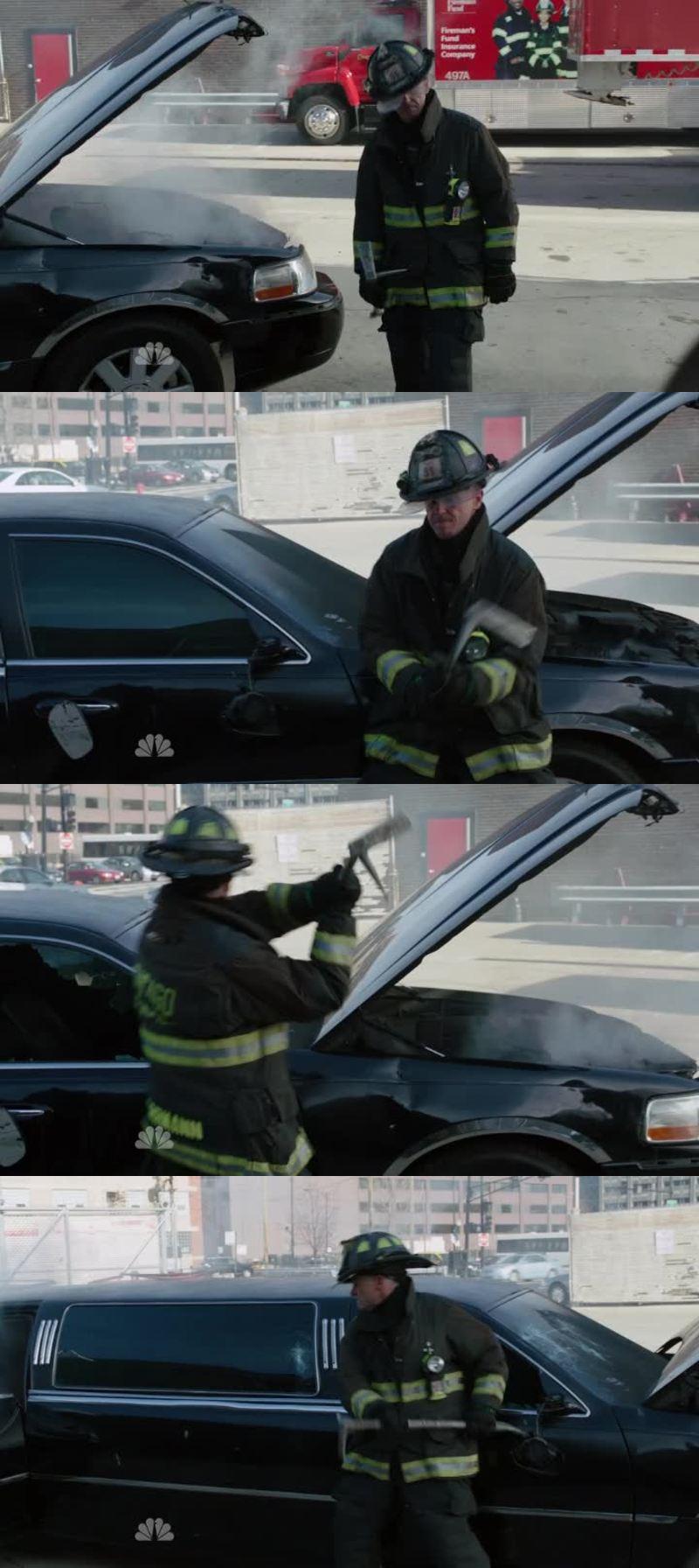 J'ai adoré la scène où Herman défonce la limousine.