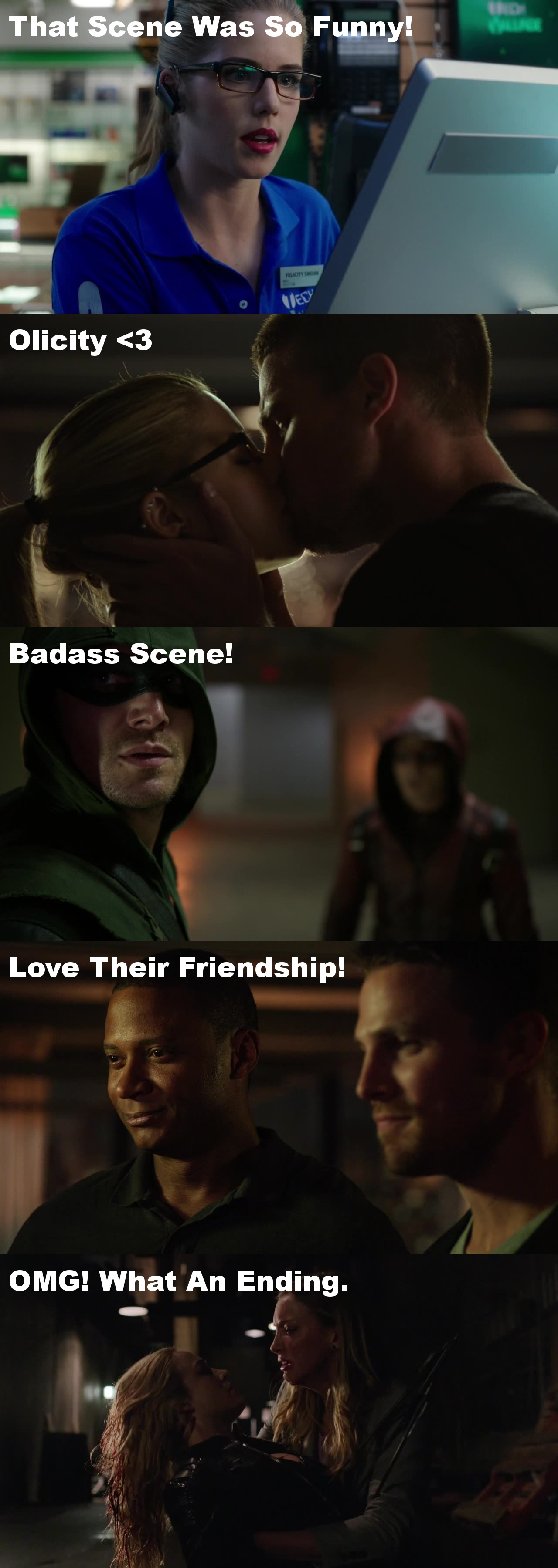 So Happy Arrow Is Back On My Screen!