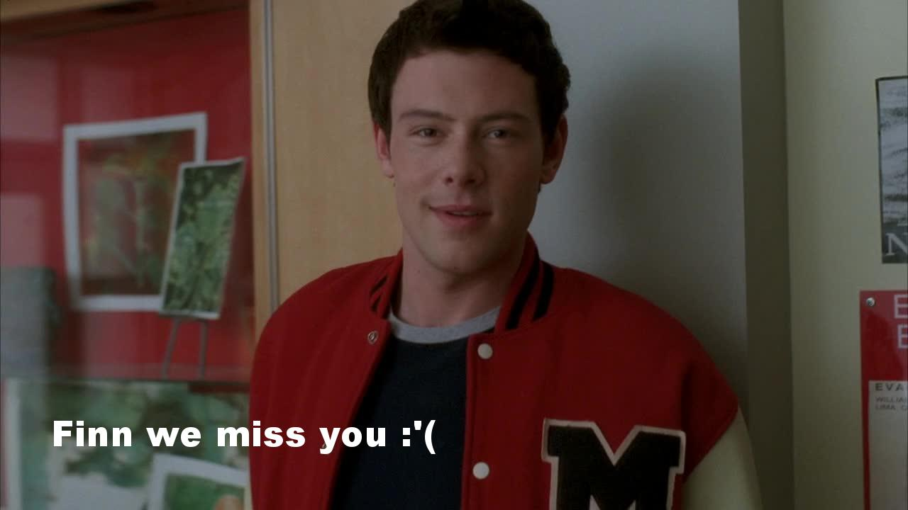 As always, so many feelings watching that show. I cried, I laughed. Can't get enough of Glee!