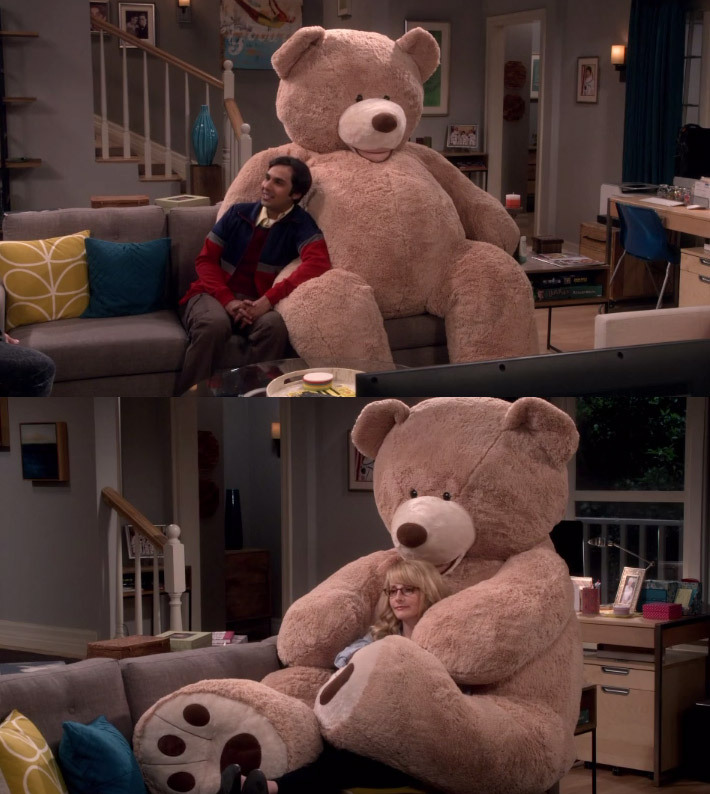 I NEED THIS BIG BEAR IN MY LIFE