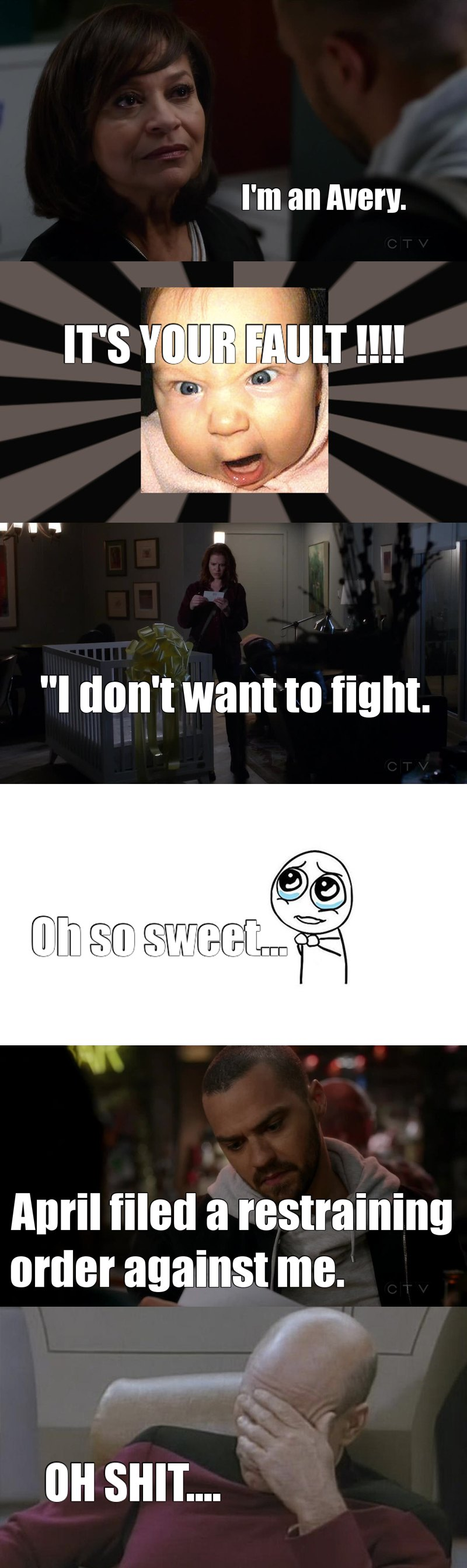 I hate Catherine  ! #Japril 😫😫