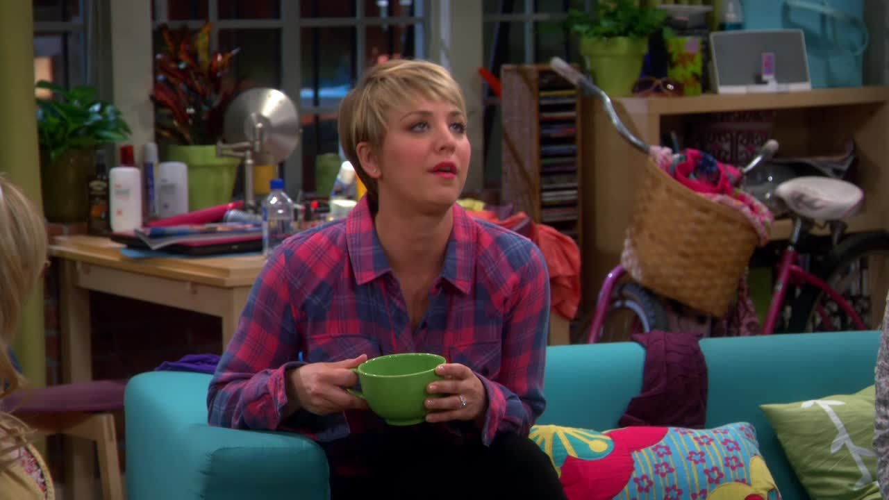 This is how I look every time I see Penny's new haircut