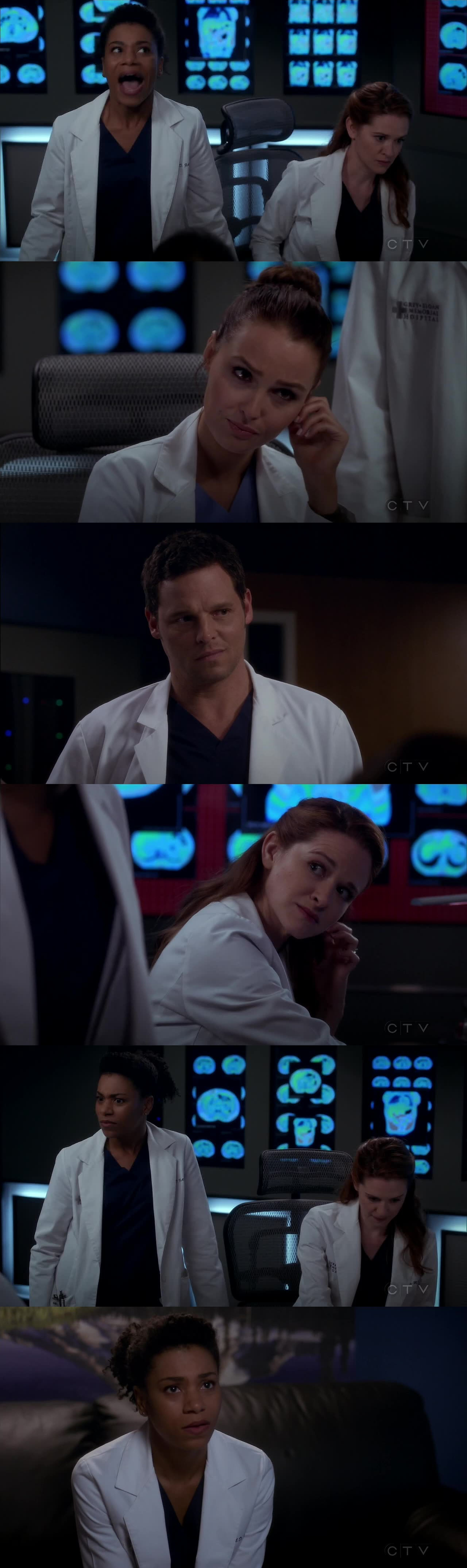 That scene tho!! I'm living for Maggie's awkwardness. XD