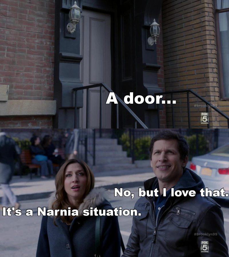 I love Narnia !