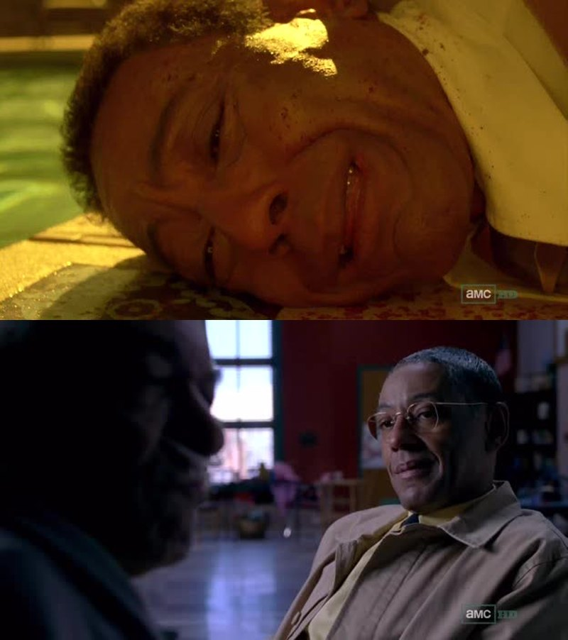 When Gus was first introduced, I thought his war with the cartel was just another drug war... But after this flashback I understand his actions and motives better. Him killing the twins (were they Hector's sons or were they his nephews like Tuco?) was a personal act of revenge. Now I can understand why he was smiling when he was telling Hector about their death on a previous episode.