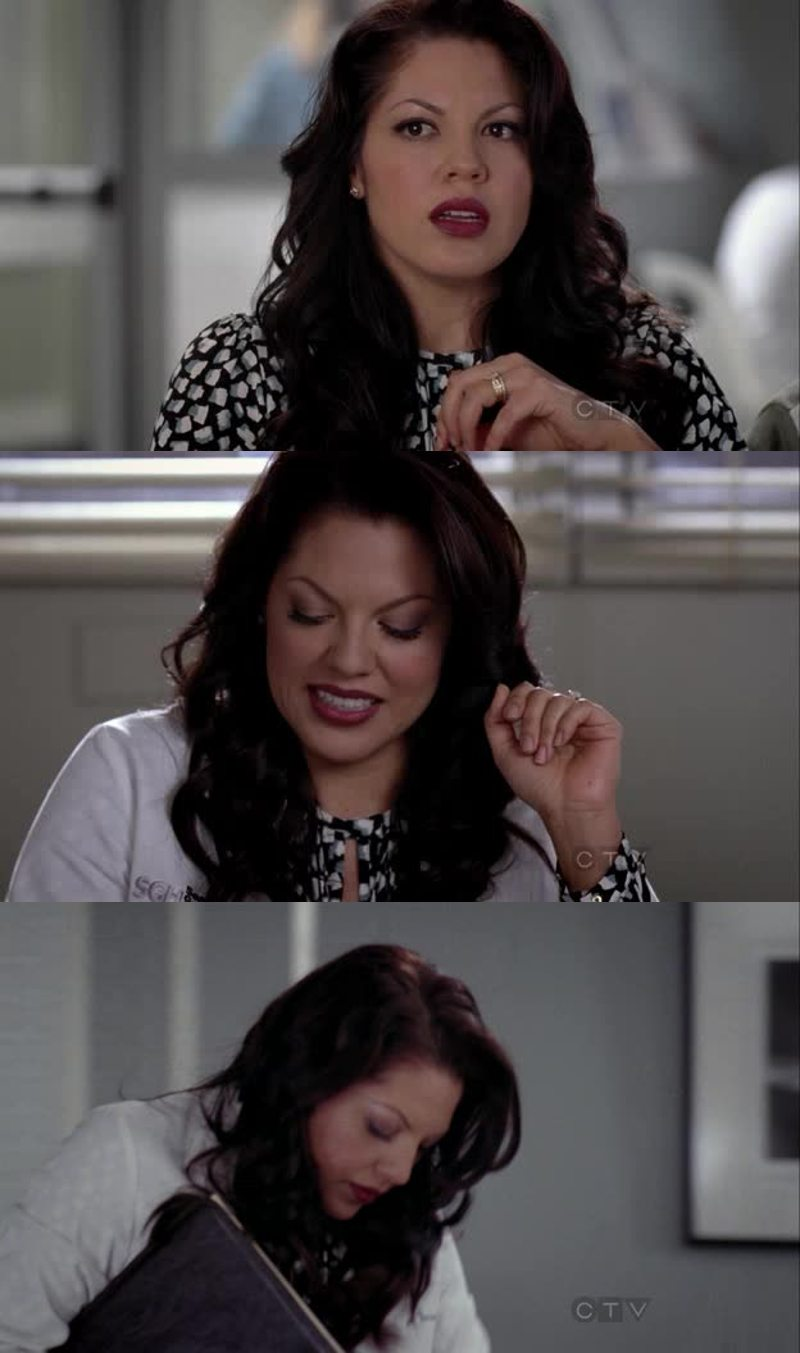 callie was stunning in this ep! beautiful beautiful beautiful