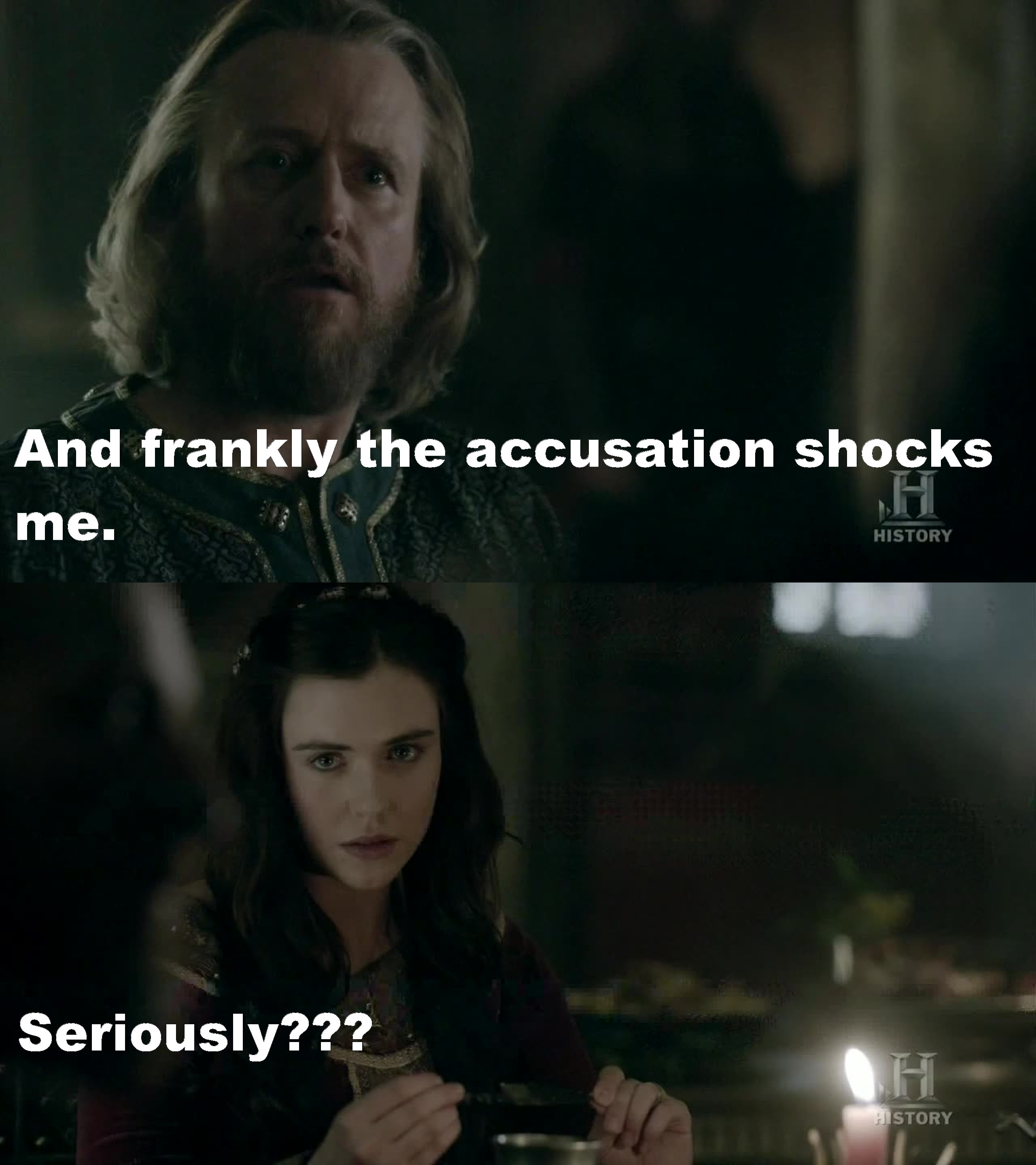 Hahaha...loved the looks she gave during the whole coversation...