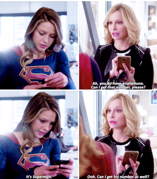 Do you think it's the same phone number as Kara or a different one? hahaha