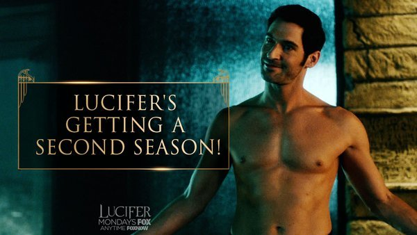 Hooray! It's official Lucifer is getting a 2nd Season