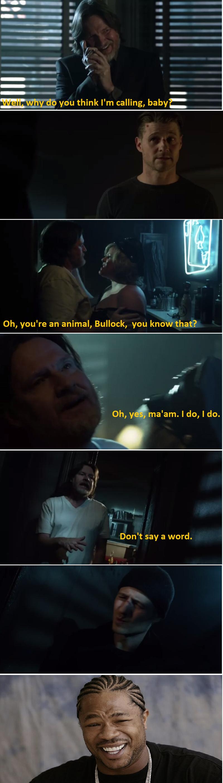 I  LOVE  Bullock!!!!  More Harvey please!