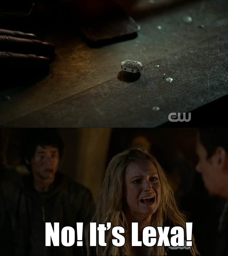 Clarke broke my heart!