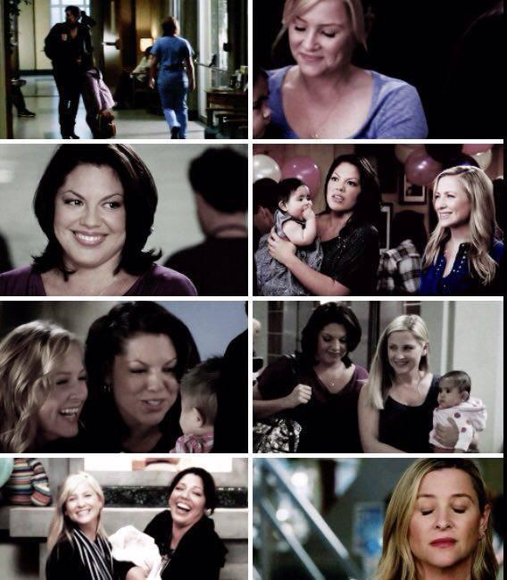 Oh, god...my heart is broken. I'm so sad for Arizona, Callie is so selfish.