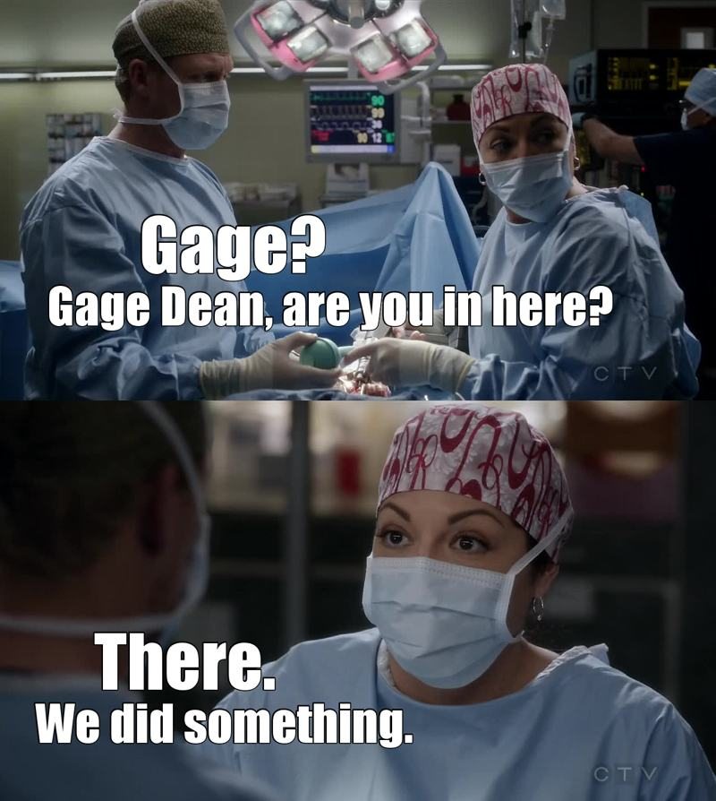 Thanks, Callie. Really don't know what they'd do without you. XD